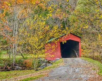 Photograph - Giles County Covered Bridge by Kerri Farley