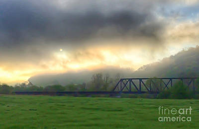 Photograph - Giles County Morning by Kerri Farley