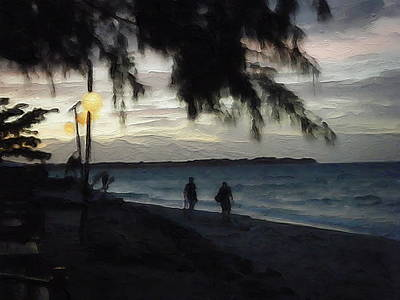 Photograph - Gili Nights by Jamie Johnson