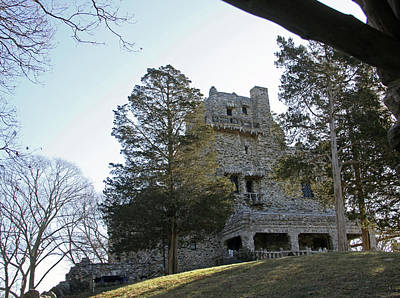 Photograph - Gillette Castle 01/25/18 by Gerald Mitchell