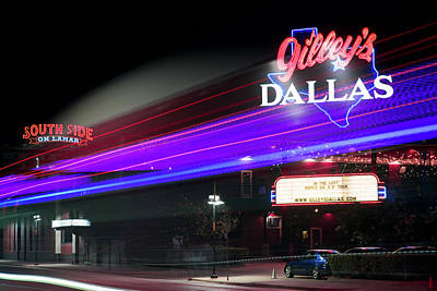 Photograph - Gilley's Dallas Night Club by Rospotte Photography