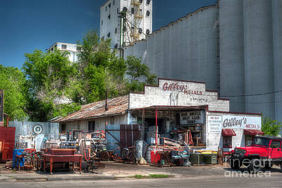 Photograph - Gilley's Metals by Fred Lassmann