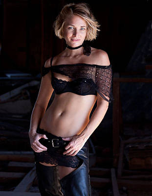 Photograph - Gillian  by Joel Gilgoff
