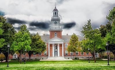 Photograph - Gilman Hall - Johns Hopkins University by L O C
