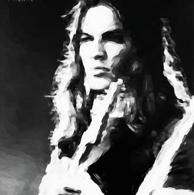Gilmour #343 By Nixo Print by Nicholas Nixo