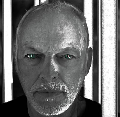 Mixed Media - Gilmour Best,by Nixo, by Nicholas Nixo