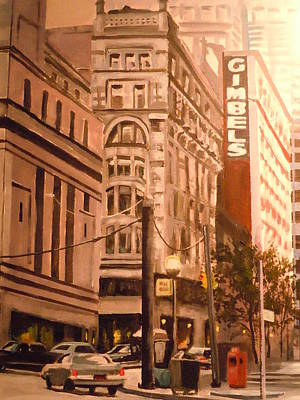 Gimbels In Pittsburgh Art Print by James Guentner