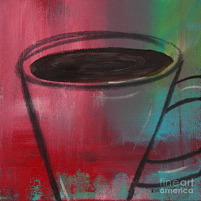 Painting - Gimme Coffee by Robin Maria Pedrero