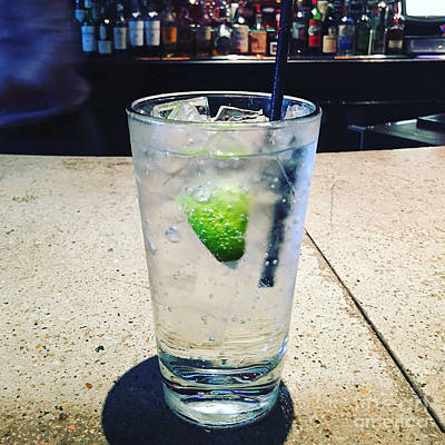 Photograph - Gin And Tonic  by Bob Brents