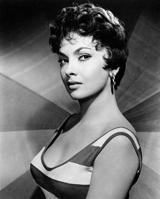 1950s Portraits Photograph - Gina Lollobrigida, Ca. Late 1950s by Everett