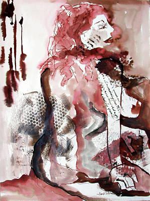 Painting - Ginger Dear by Carol Schindelheim