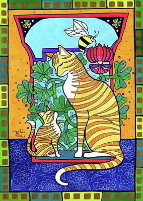 Painting - Ginger Love by Dora Hathazi Mendes