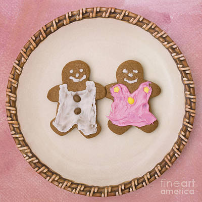 Photograph - Gingerbread Friends by Diane Macdonald