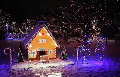 Photograph - Gingerbread House At Lilacia Park by Joni Eskridge