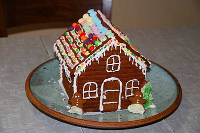 Photograph - Gingerbread House by Kathryn Meyer