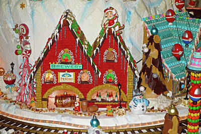 Photograph - Gingerbread House Study 1 by Robert Meyers-Lussier