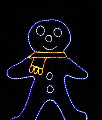 Photograph - Gingerbread Man by Steven Parker