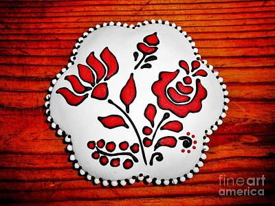 Photograph - Gingerbread With Hungarian Motifs by Erika H