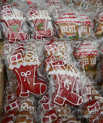 Photograph - Gingerbread With Sugar Glazing For Christmas by Erika H