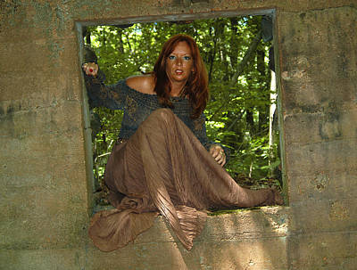 Photograph - Ginger's Framed by Mike Martin