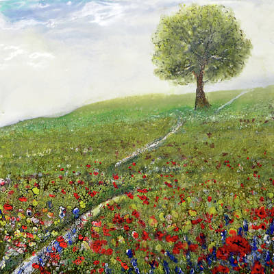 Painting - Ginger's Meadow by Jennifer Creech