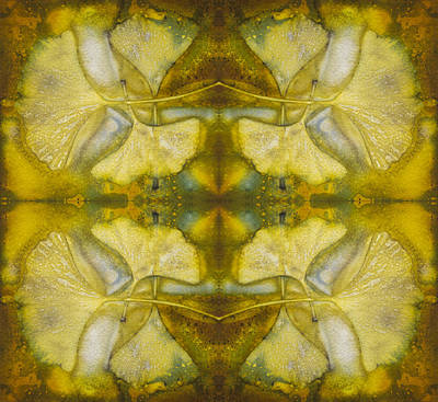 Gingko Quad Art Print