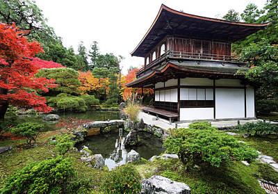Photograph - Ginkaku-ji Temple by Wayne Sherriff