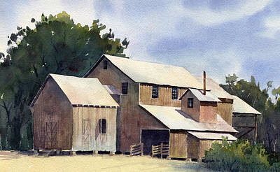 Cotton Gin Painting - Ginning Time by Michael Taylor