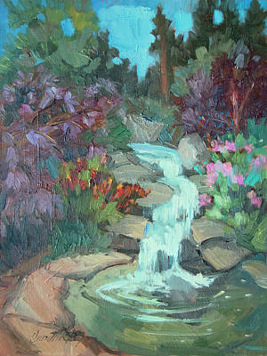 Painting - Gioeli Gardens by Diane McClary