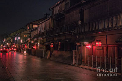 Photograph - Gion, Old Kyoto, Japan by Perry Rodriguez