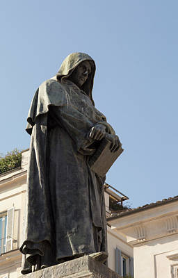 Giordano Bruno Photograph - Giordano Bruno by Ken Welsh