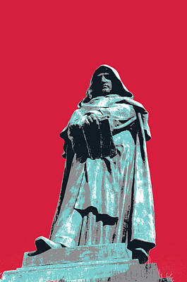 Giordano Bruno Art Print by Shay Culligan