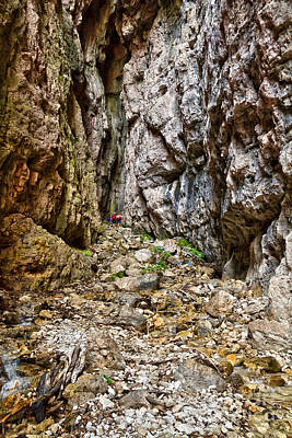 Photograph - Giovannelli Gorge by Antonio Scarpi