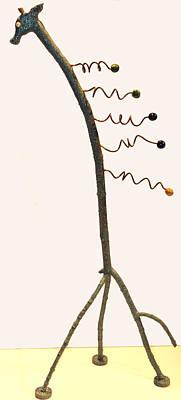 Sculpture - Giraffaffaff by Kevin Callahan