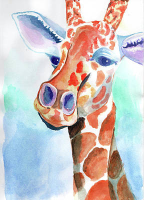 Painting - Giraffe by Alexis Kadonsky