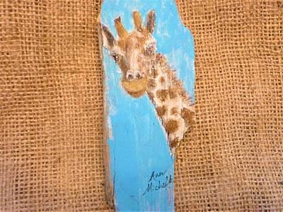 Mixed Media - Giraffe  by Ann Michelle Swadener