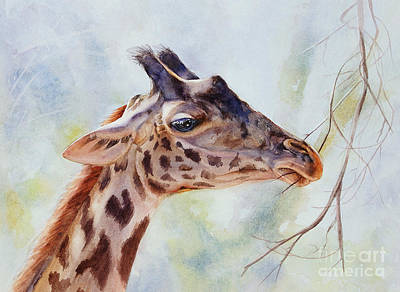 Painting - Giraffe by Bonnie Rinier