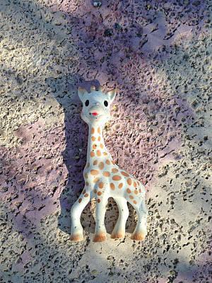 Photograph - Giraffe In Space by Stan  Magnan