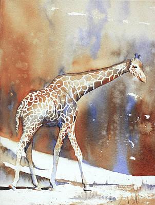 Painting - Giraffe Iv by Ryan Fox