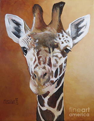 Painting - Giraffe by Marilyn McNish