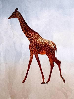 Painting - Giraffe by Mark Taylor