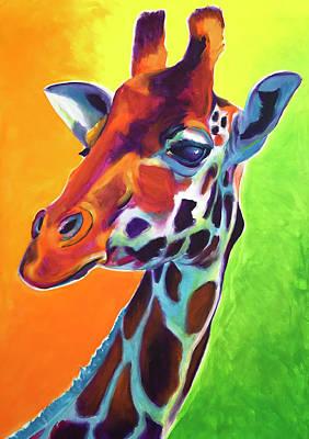 Painting - Giraffe - Summer Fling by Alicia VanNoy Call
