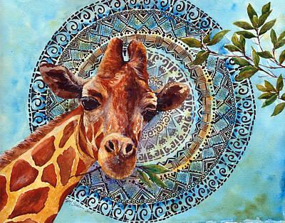 Giraffe Original by Susy Soulies