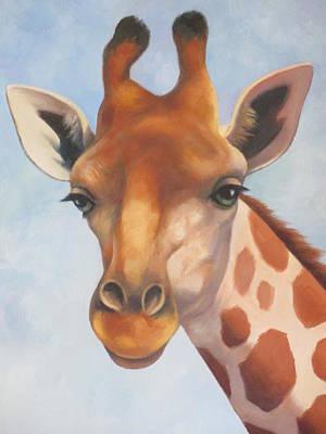 Painting - Giraffe by Vivien Rhyan