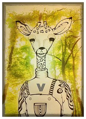 Keith Richards - Giraffen by Vincent Lara