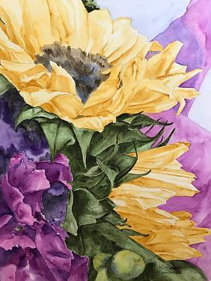 Girasole Painting - Girasole Cinque by Kimberly Cammerata