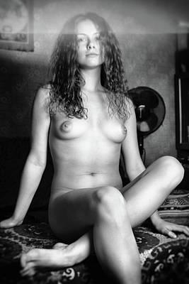 Photograph - Girl #1717 by Andrey Godyaykin