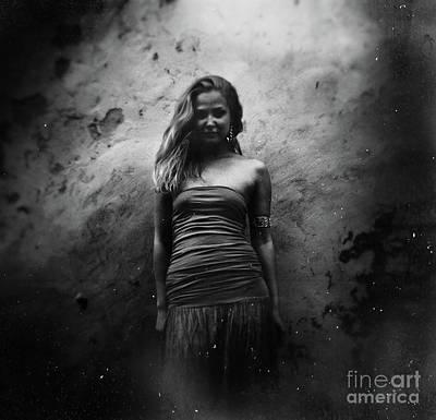 Photograph - Girl #235bw by Andrey Godyaykin