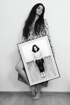 Photograph - Girl #6264 by Andrey Godyaykin