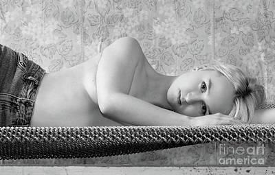Photograph - Girl #7388 by Andrey Godyaykin